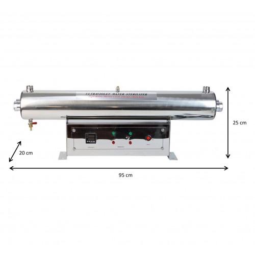 Lampa UV 110W - Philips - Industriala - cu panou de comanda