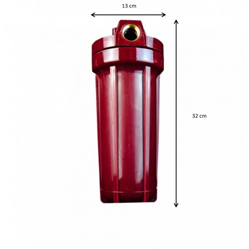 Filtru de apa - RED HOT - pentru apa calda