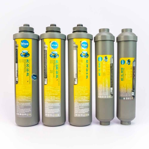 Seria 6 / NL6 - Set Consumabile - Blue Filters