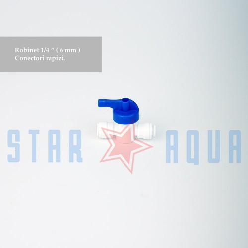 """Robinet cu conectori rapizi - 1/4"""""""